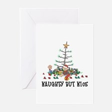 Naughty But Nice Greeting Cards (Pk of 10)