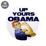 "Anti-Obama 3.5"" Button (10 pack)"