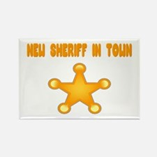 Sheriff Rectangle Magnet