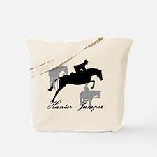 Hunter Jumper Trio Script Tote Bag