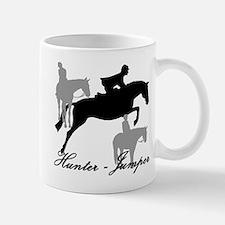 Hunter Jumper Trio Script Mug