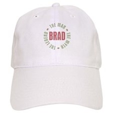 Brad Man Myth Legend Baseball Cap