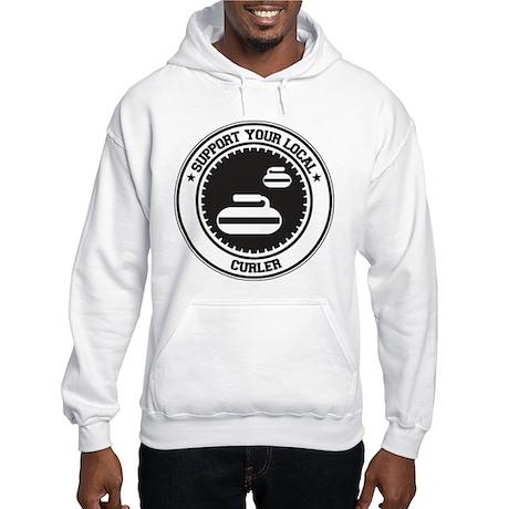 Support Curler Hooded Sweatshirt