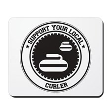Support Curler Mousepad