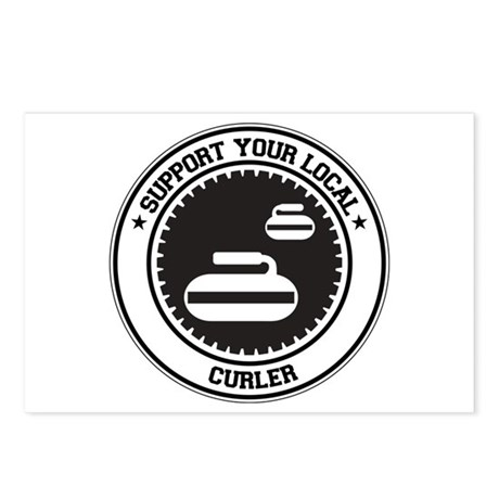 Support Curler Postcards (Package of 8)