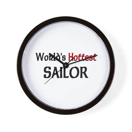 World's Hottest Sailor Wall Clock