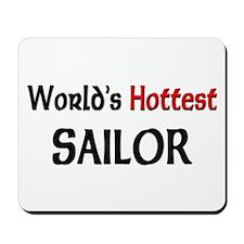World's Hottest Sailor Mousepad
