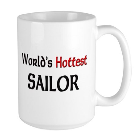 World's Hottest Sailor Large Mug