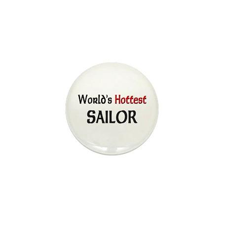 World's Hottest Sailor Mini Button (10 pack)