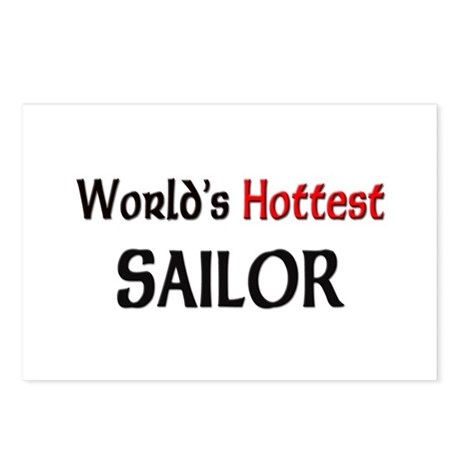 World's Hottest Sailor Postcards (Package of 8)
