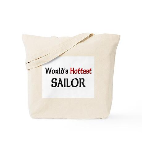 World's Hottest Sailor Tote Bag
