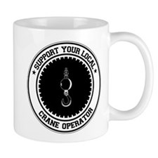 Support Crane Operator Mug
