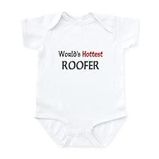 World's Hottest Roofer Infant Bodysuit