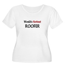 World's Hottest Roofer T-Shirt