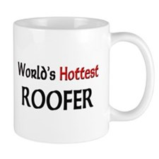 World's Hottest Roofer Mug