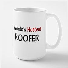 World's Hottest Roofer Mug