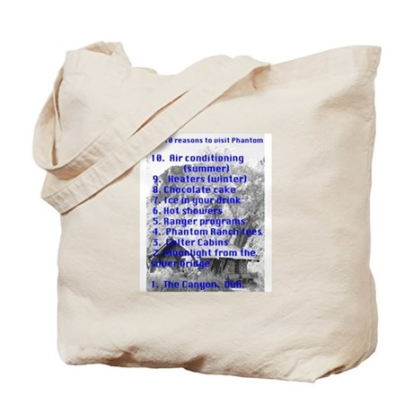 Phantom Ranch top 10 Tote Bag