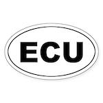 Ecuadorian (ECU) Oval Sticker