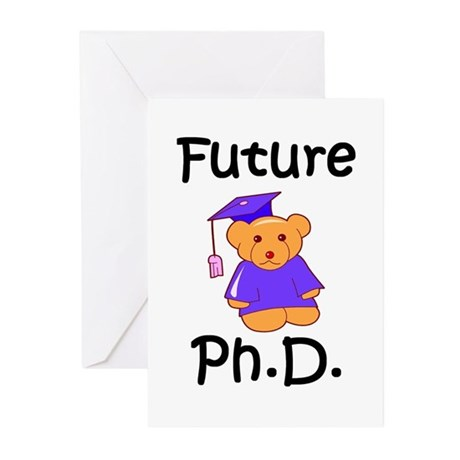 Future Ph.D Greeting Cards (Pk of 10)