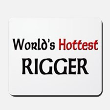 World's Hottest Rigger Mousepad