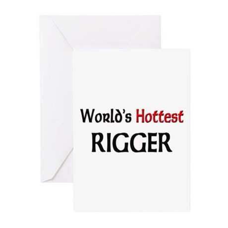 World's Hottest Rigger Greeting Cards (Pk of 10)