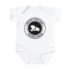 Support Concrete Person Infant Bodysuit
