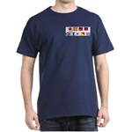 Mason Sailors Flags Dark T-Shirt