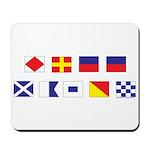 Mason Sailors Flags Mousepad