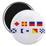Mason Sailors Flags Magnet