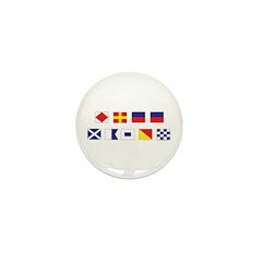 Mason Sailors Flags Mini Button (10 pack)