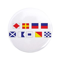 "Mason Sailors Flags 3.5"" Button (100 pack)"