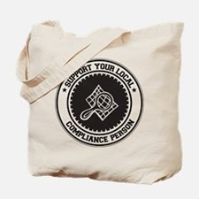 Support Compliance Person Tote Bag
