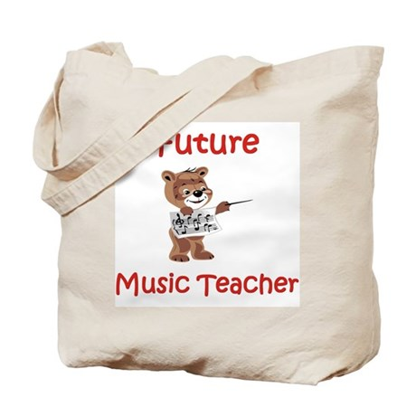 Future Music Teacher Tote Bag