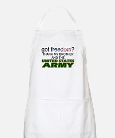 Got Freedom? Army (Brother) BBQ Apron