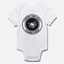 Support Cleaning Person Infant Bodysuit