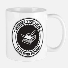 Support Cleaning Person Mug