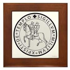 Templar Seal Framed Tile