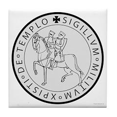 Templar Seal Tile Coaster