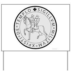 Templar Seal Yard Sign