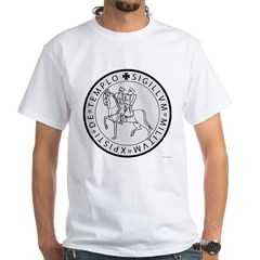Templar Seal White T-Shirt