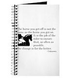 Dressage Journals & Spiral Notebooks