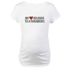 My Heart Belongs to a Paramedic Shirt