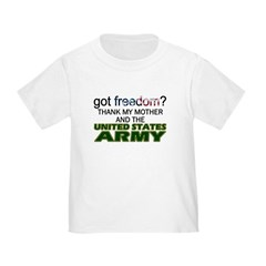 Got Freedom? Army (Mother) T