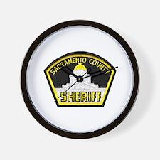 Sacto Sheriff Wall Clock