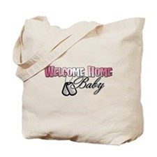 Welcome Home Baby Tote Bag