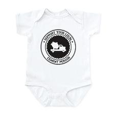 Support Cement Person Infant Bodysuit
