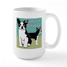 Adopt a Boston Terrier Mug
