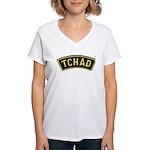 Tchad Legionaire Women's V-Neck T-Shirt