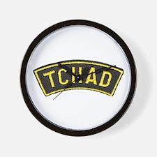 Tchad Legionaire Wall Clock