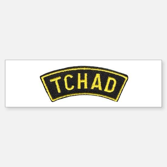 Tchad Legionaire Bumper Bumper Bumper Sticker